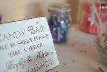 DIY Wedding Sweet Cart