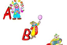Alphabet Clip Art - Illustrated Alphabet Clip Art - Clowns - Letters - ABCs / Illustrated Alphabet Clip Art - Clown Alphabet Clip Art. WELCOME to this STUNNING collection of Illustrated Clown Alphabet Clip Art images.   This bundle contains 26 high-quality COLOR Illustrated Clown Alphabet Clip Art images. Images saved at 300dpi in PNG files.  This Illustrated Clown Alphabet Clip Art set includes:  -26 uppercase letters  ENJOY!!!