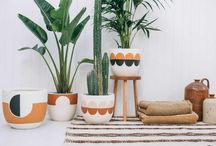 """Pop & Scott Pots / The Modernist Range / Pop & Scott """"Modernist' Range   Inspired by our love for '70's style and architecture with a colour palette paying tribute to the harsh West Australian outback.  Styling by Poppy Lane, Images by Bobby + Tide"""