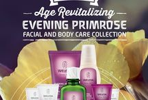 Introducing Age Revitalizing Evening Primrose Facial and Body Care