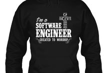 """Software Engineer Created to Worship / Software is EVERYWHERE. Software Engineers indeed take the lead in the computer industry nowadays. We salute all the Software Engineers who always have time to worship God despite their busy schedules, as what Proverbs 3:6 says """"In all your ways acknowledge Him, And He will make your paths straight."""" Does this shirt best represent you? Click here now to purchase: http://discipletee.com/store"""