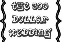 A frugal Wedding