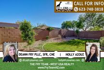 SOLD! Gorgeous Single-Level Home On A North-South Facing Lot / 13823 W Solano Drive, Litchfield Park, AZ 85340