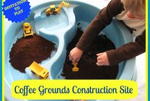 Sensory & Water Table Ideas / Ideas to create a fun sensory or sand water table area.