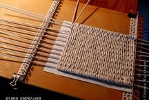 pletení z papíru dna