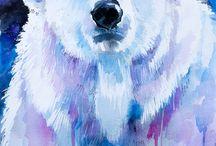 Bear art北极熊