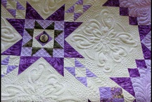 Hand Stitched for Comfort / When I was born, my grandmother made me a quilt. I have loved them since then. / by Donna Cox