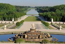 ♣ Les jardins de France ♣ / Ce qui fait la beauté de la France, c'est aussi ses jardins habillant les demeures et es châteaux, ou simplement dans les villes.