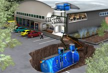 Commercial Rainwater Harvesting / Commercial Rainwater Harvesting is great for the environment and it can help companies save money.