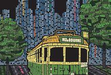 PLACES - Melbourne / Past, Present, Future  / by Sandra Robinson