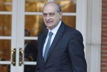 El ministro del Interior Jorge Fernández Díaz