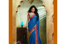 Laxmipati Sarees- Catalogue- Gunjika / Buy our latest Gunjika Catalogue for special Occasions like Bridal,Evening,Engagement,Party,Wedding Wear with various fabrics like Chiffon,Georgette,Silk,Net,Satin,Satin Chiffon,Raw Silk,Net Embroidery,Jute Patta etc  at very attractive prices.