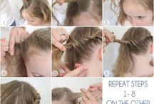 Girl´s hair ideas