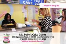Polly's Cakes and Treats / Cakes, cupcakes and treats fresh from the oven in Savannah, GA!