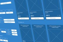 Axure template and UI kits / Axure template, library and UI kits