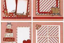 Scrapbook Christmas Layouts Ideas