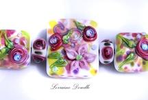 Latest Lampwork Beads / Lorraine Dowdle Wearable Glass Art