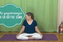 Yoga för en bättre sömn
