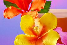 gum pastye flowers