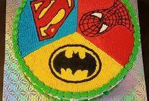 Batman superman and Spider-Man