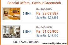 2/3 BHK flats in saviour greenarch Noida
