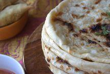 Naans bugnes pain poêlé