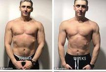 Workout e dieta per trasformarsi