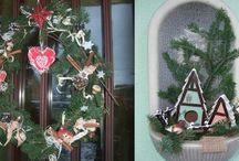 Noël Alsacien / Décoration de Noël, de table et tradition de Noël autour de l'Alsace