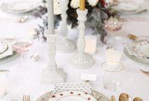 Les plus belles tables de fêtes / Des idées pour la décoration de vos tables pendant les fêtes