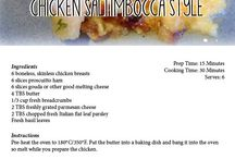 Chicken Recipes / Recipes created using our Free Range Chicken