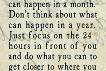 Stay Focused / Never Give Up On Yourself
