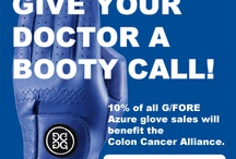 Be Blue / March is Colon Cancer Awareness Month. Wear blue to show support in finding a cure.