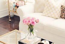 gold livingroom