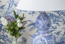 At Home with Blue and White / Calming / Charming blue and white lifestyle / by Nikki Williams