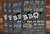 Baby Shower Ideas and Games / I would love to have a simple, fun, and co-ed baby shower. Nothing conventional.