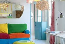 COLOUR IDEAS BY STYLEITCHIC / easy chic and cheap ideas to make a colourfull home