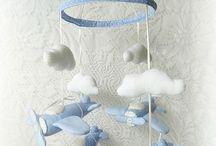 мобили для новорожденных