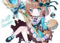 Anime Food Girl