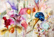 Love / I love this painting of Amanda Krantz