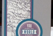 Stampin' Up! - World Map
