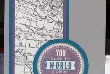 Stampin' Up! - World Map