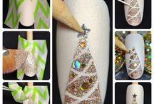 nail christmas
