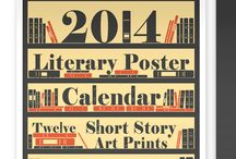 Literary - Text - Posters / Lit posters, text heavy