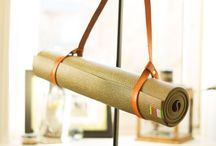 Mala Yogamat-Strap / ein wundervoller Ledergurt, um deine Yogamatte immer bei dir zu haben. Weiches leder, alles handgefertigt!
