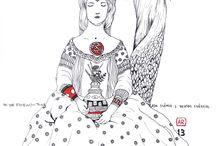 Desenhos de Alexandre Rato / artes visuais