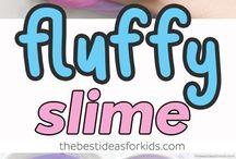 Fluffy slime recipe