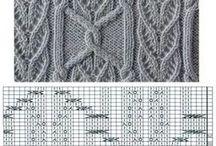 вязание рисунки схемы спицы