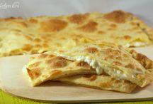 focacce,con o senza lievito, pizze