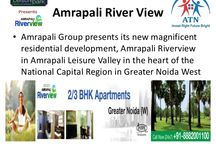 Amrapali RiverView Noida Extension / Amrapali Riverview is a luxury residential project of Amrapali Group in Noida Extension near Hindon River. The prime location, lavish amenities and affordable prices makes it the bets investment. Book your dream home with ATN Infratech. / by Atn Infratech