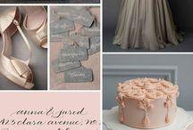 Wedding in winter / Palette
